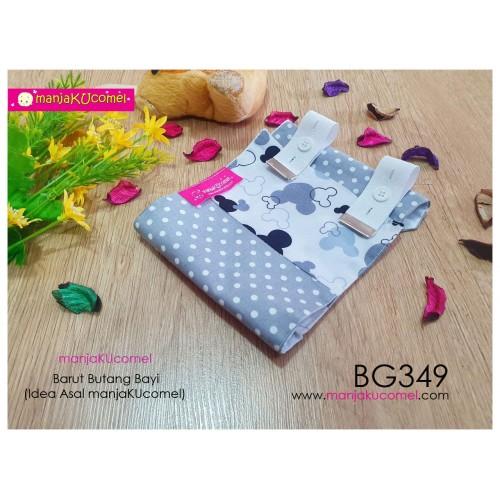 BG349-manjaKUcomel Barut Butang Bayi Bercorak
