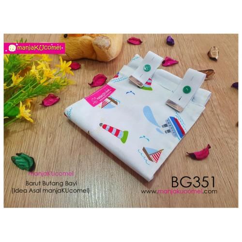 BG351-manjaKUcomel Barut Butang Bayi Bercorak
