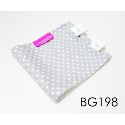 BG198-manjaKUcomel Barut Butang Bayi Bercorak