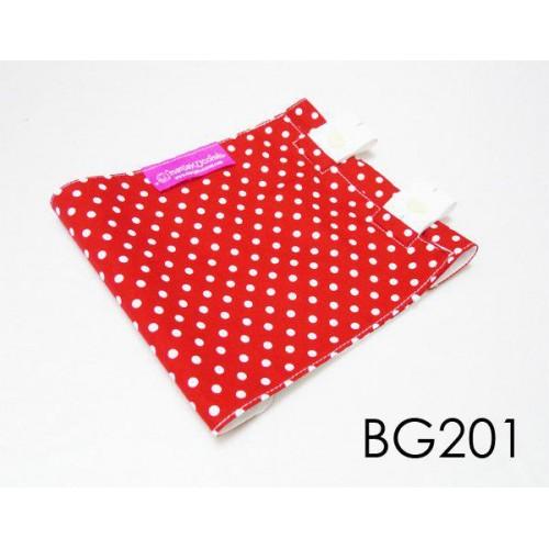 BG201-manjaKUcomel Barut Butang Bayi Bercorak