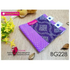BG228-manjaKUcomel Barut Butang Bayi Bercorak