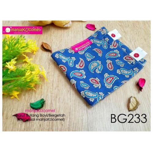 BG233-manjaKUcomel Barut Butang Bayi Bercorak
