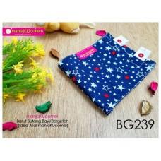 BG239-manjaKUcomel Barut Butang Bayi Bercorak