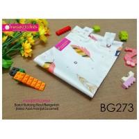 BG273-manjaKUcomel Barut Butang Bayi Bercorak