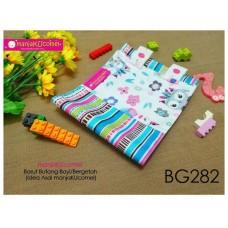 BG282-manjaKUcomel Barut Butang Bayi Bercorak