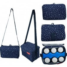 Autumnz - Fun Foldaway Cooler Bag (Starry Blue)