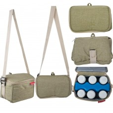 Autumnz - Fun Foldaway Cooler Bag (Sage Green)