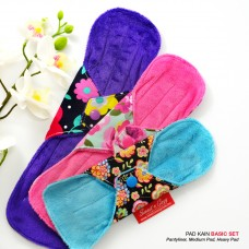 Cloth Pad – Basic set + FREE Natural Feminine Wash Soap