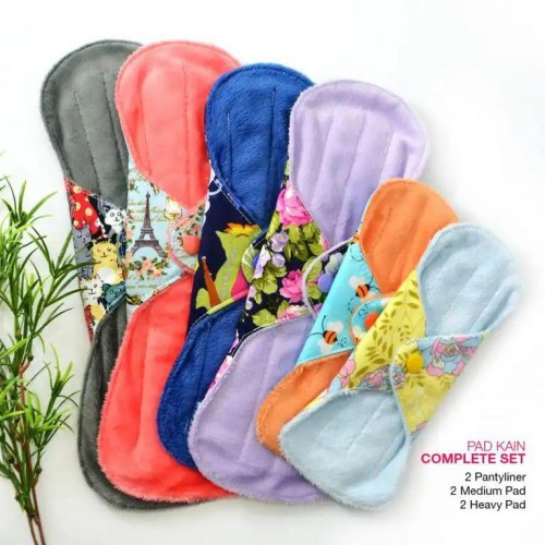Cloth Pad - Complete Set + FREE Natural Feminine Wash Soap
