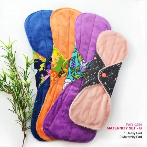 Cloth Pad - Maternity Set B + FREE Natural Feminine Wash Soap