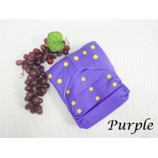 Cloth Diapers - Purple