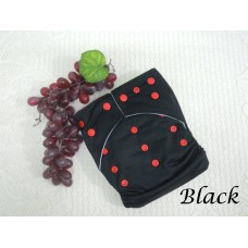 Cloth Diapers - Black