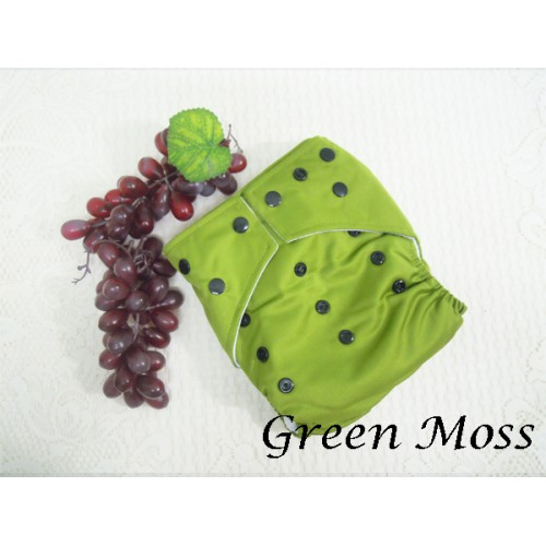 Cloth Diapers - Green Moss