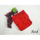 Cloth Diapers - Red