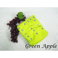 Cloth Diapers - Green Apple