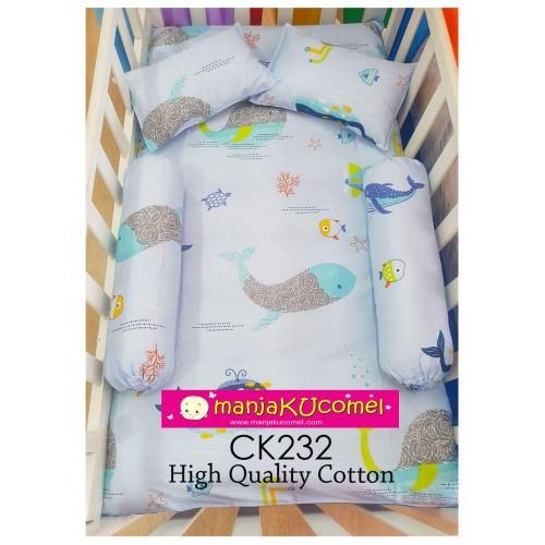 Sarung Set Tilam Katil Bayi - CK232(High Cotton)