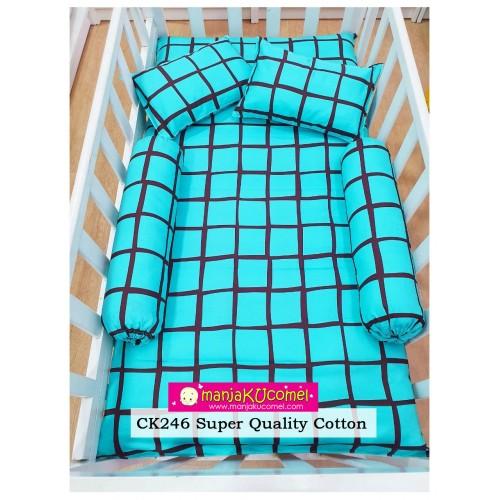 Sarung Set Tilam Katil Bayi - CK246(Super Quality Cotton)