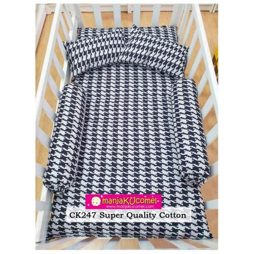 Sarung Set Tilam Katil Bayi - CK247(Super Quality Cotton)
