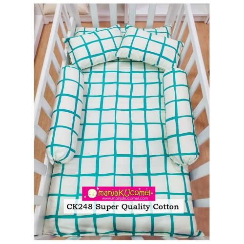 Sarung Set Tilam Katil Bayi - CK248(Super Quality Cotton)