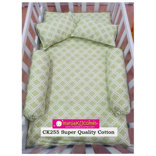 Sarung Set Tilam Katil Bayi - CK255(Super Quality Cotton)