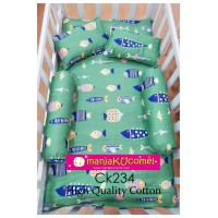 Sarung Set Tilam Katil Bayi - CK234(High Cotton)