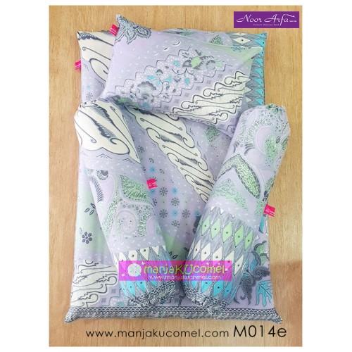 Mini Set Tilam Bayi (Kekabu Asli) - M014e Noor Arfa Batik
