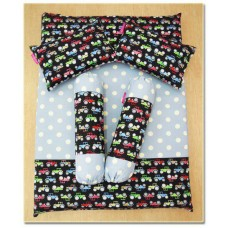 MANJAKUCOMEL Sarung Set Tilam Bayi - C196 (Super Quality Cotton/English Cotton)
