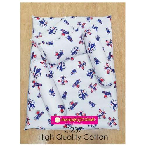 MANJAKUCOMEL Sarung Set Tilam Bayi - C237 (High Quality Cotton)