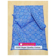 MANJAKUCOMEL Sarung Set Tilam Bayi - C250 (Super Quality Cotton/English Cotton)