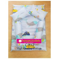 MANJAKUCOMEL Sarung Set Tilam Bayi - C232 (High Quality Cotton)