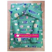 MANJAKUCOMEL Sarung Set Tilam Bayi - C234 (High Quality Cotton)