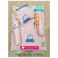 MANJAKUCOMEL Sarung Set Tilam Bayi - C240 (High Quality Cotton)