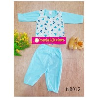Newborn Pyjama (Long Sleeve + Long Pant) - NB012