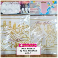 Batik Paint Kit by Noor Arfa Batik - Set C