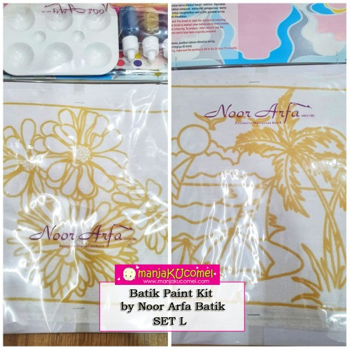 Batik Paint Kit by Noor Arfa Batik - Set L