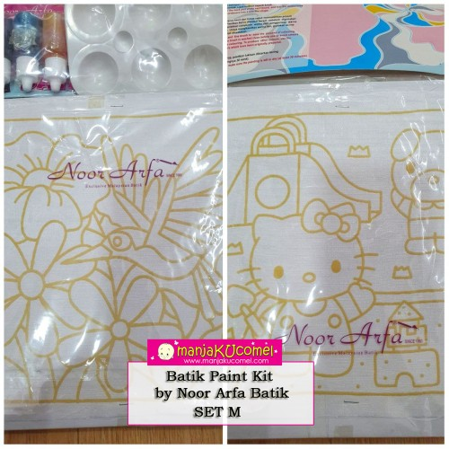 Batik Paint Kit by Noor Arfa Batik - Set M