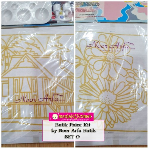 Batik Paint Kit by Noor Arfa Batik - Set O