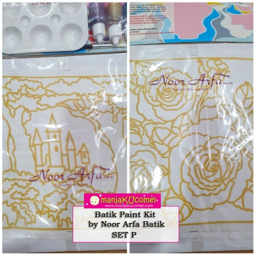 Batik Paint Kit by Noor Arfa Batik - Set P