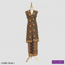 """Noor Arfa Batik XG045 3 """"Lapis Batik Tulis"""" (Circle)"""