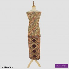 "Noor Arfa Batik XG053 3 ""Lapis Batik Tulis"" (Square)"
