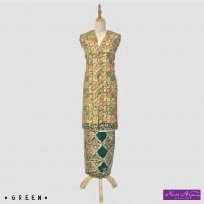 "Noor Arfa Batik XG052 3 ""Lapis Batik Tulis"" (Square)"