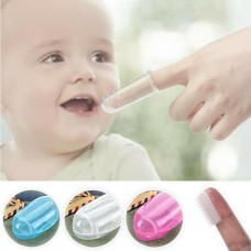 Baby Oral cleaning Infant Soft Silicone Finger Healthy Toothbrush